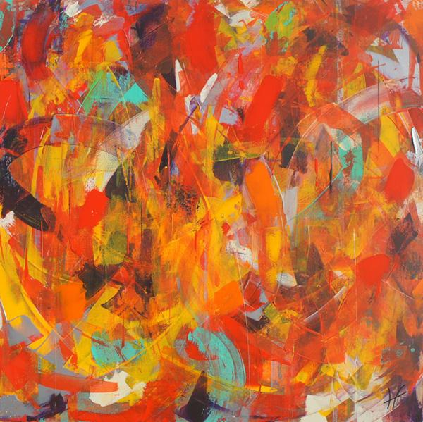 Lénon baille galerie toile carnaval